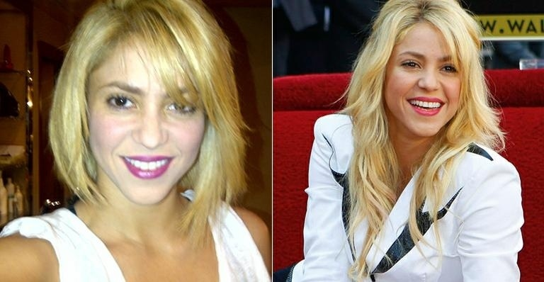 Shakira deu adeus aos fios longos que a acompanharam desde o início da carreira. Agora ela está com os cabelos curtos. A novidade foi divulgada pela cantora no Twitter.