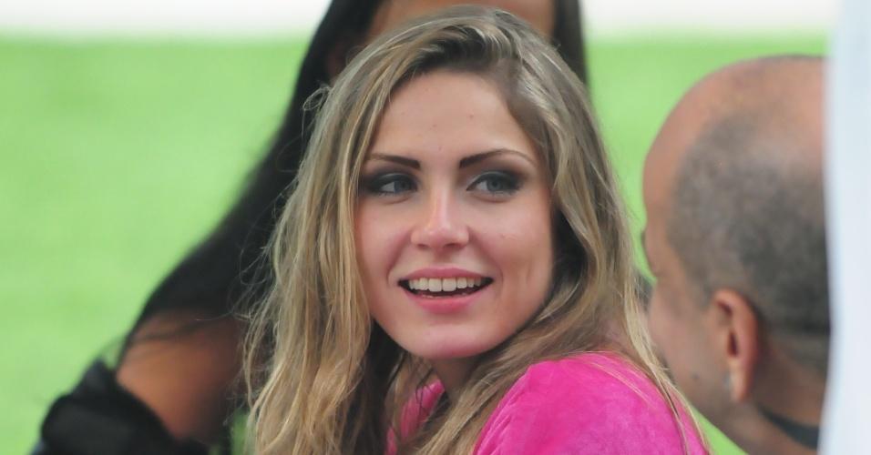 Renata na estreia do BBB12 (10/1/2012)