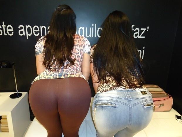 Mulher Melancia e Solange Gomes exibiram seus