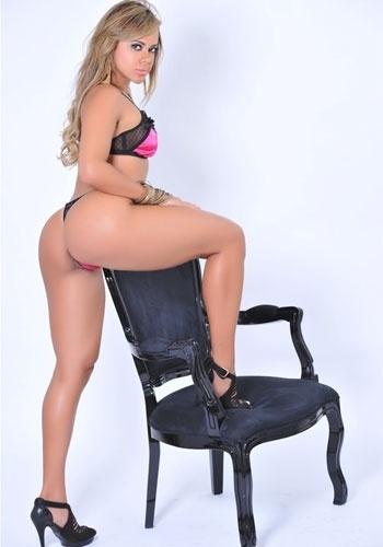 Representante do Ceará no concurso Miss Bumbum Brasil, Cibelle Ribeiro empinou o bumbum e posou de forma provocante para ensaio sensual (16/11/12)