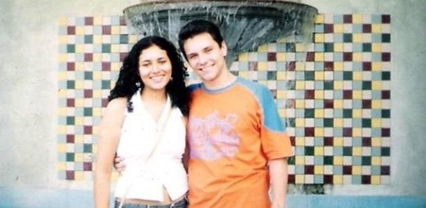 O ex-BBB Ivan com a namorada, Vanessa