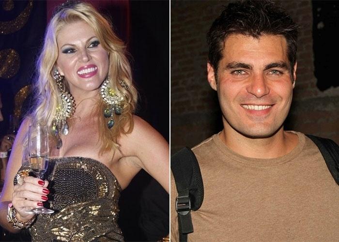 Val Marchiori afirma ter ficado com Thiago Lacerda quando ambos eram solteiros