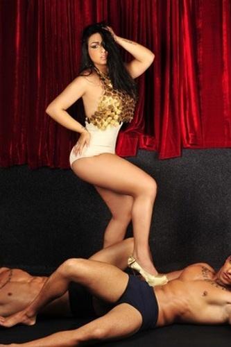 19.mai.2013 - Andressa Soares, a Mulher Melancia, divulgou fotos de um ensaio sensual recente e aproveitou para alfinetar funkeiros em entrevista ao site