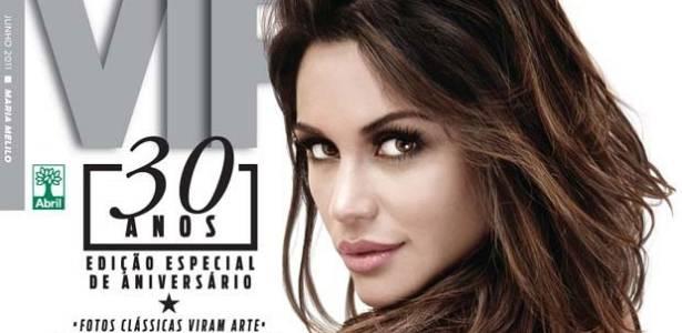 'VIP' divulga capa de maio com a Ex-BBB Maria