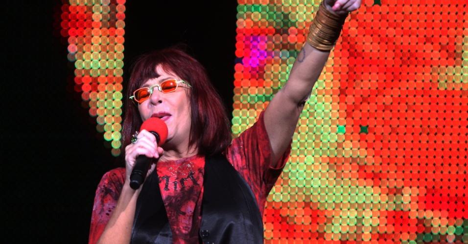 Cantora Rita Lee apresenta o show Pic Nic no Theatro Pedro 2º, em comemoração aos seus 40 anos de carreira (21/03/2009)