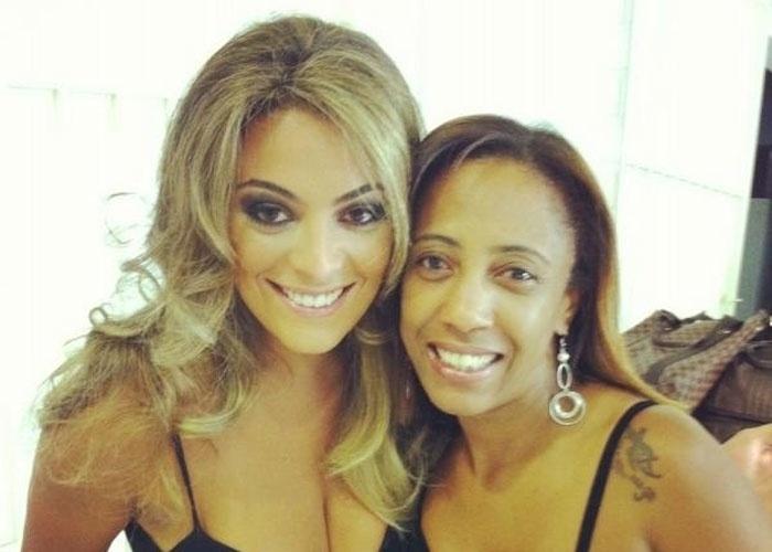 A ex-BBB Monique passou por uma transformação e ficou loiríssima (22/3/12). O resultado foi divulgado por um amigo da estudante no Twitter