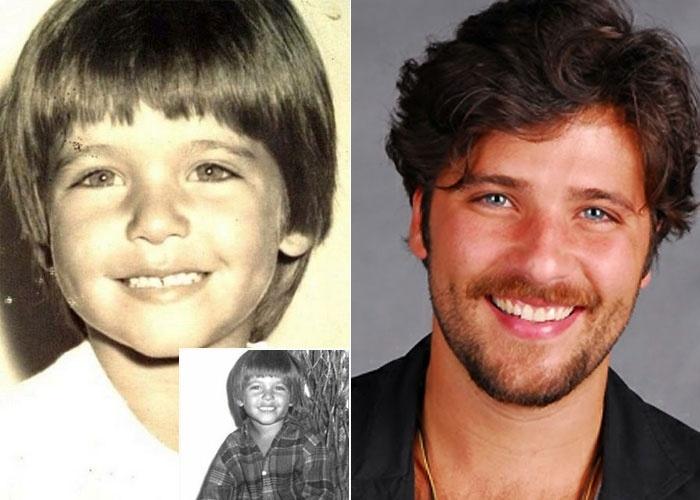 Bruno Gagliasso revirou o baú do passado e publicou no Instagram uma foto de quando era pequeno (15/6/12). Muito fofo!