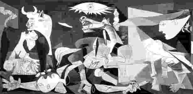 """""""Guernica"""", painel de Pablo PIcasso - Reprodução - Reprodução"""