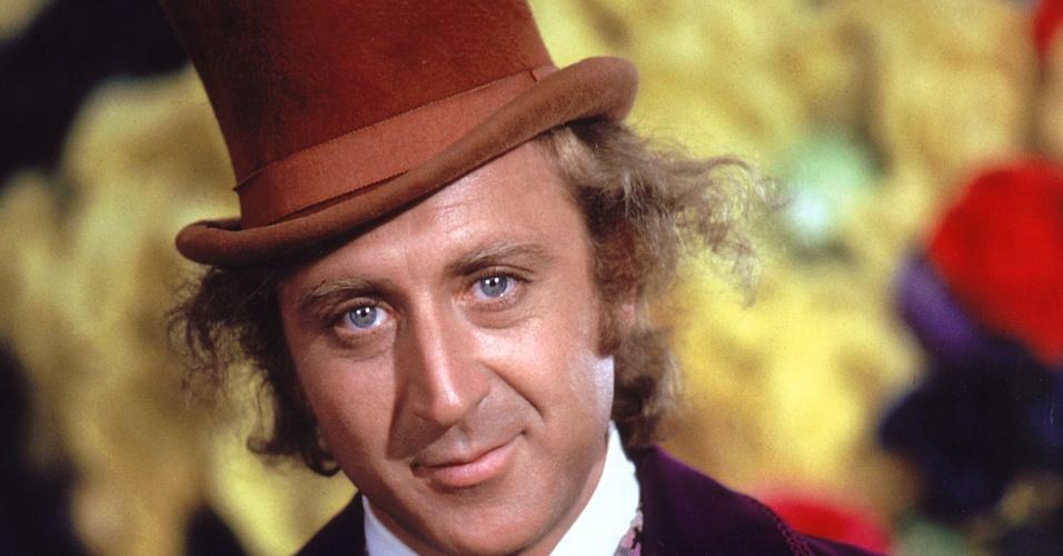 """Gene Wilder como Willy Wonka, de """"A fantástica fábrica de chocolate"""" (1971)"""