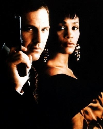 Kevin Costner e Whitney Houston em