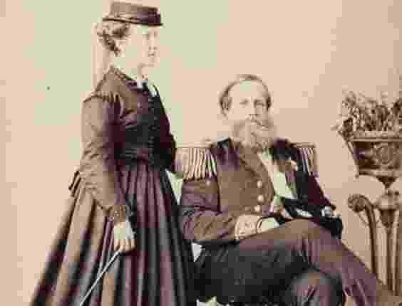 Princesa Isabel e Dom Pedro II - Reprodução