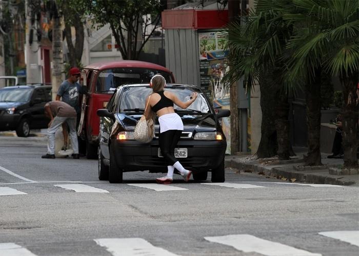 14.mai.2013 - Jéssica Lopes, mais conhecida com a