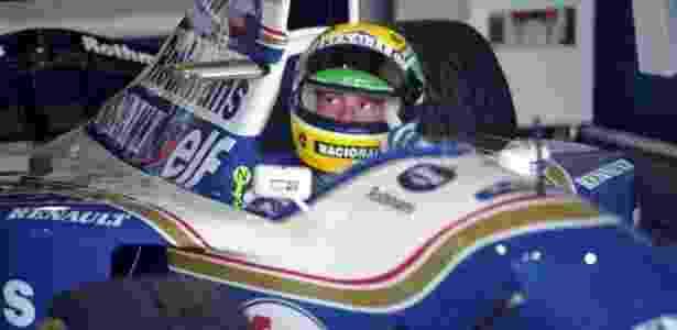Senna, na Williams, em 1994 - Pisco Del Gaiso/ Folha Imagem - Pisco Del Gaiso/ Folha Imagem