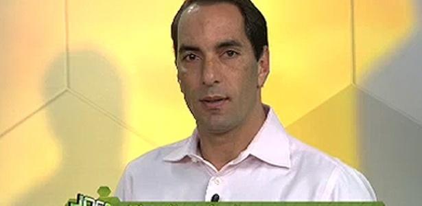 O ex-jogador Edmundo, indicado ao Prêmio Extra de Televisão 2013
